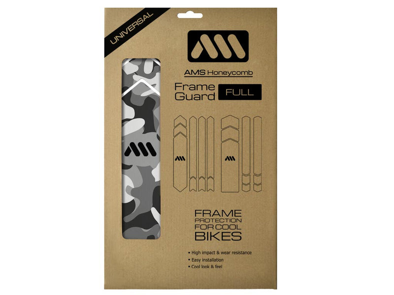 AMS FG Camo pattern in Full size product inside packaging