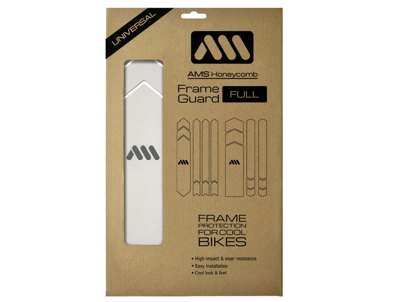 AMS All Mountain Style Frame Guard Clear package Full size