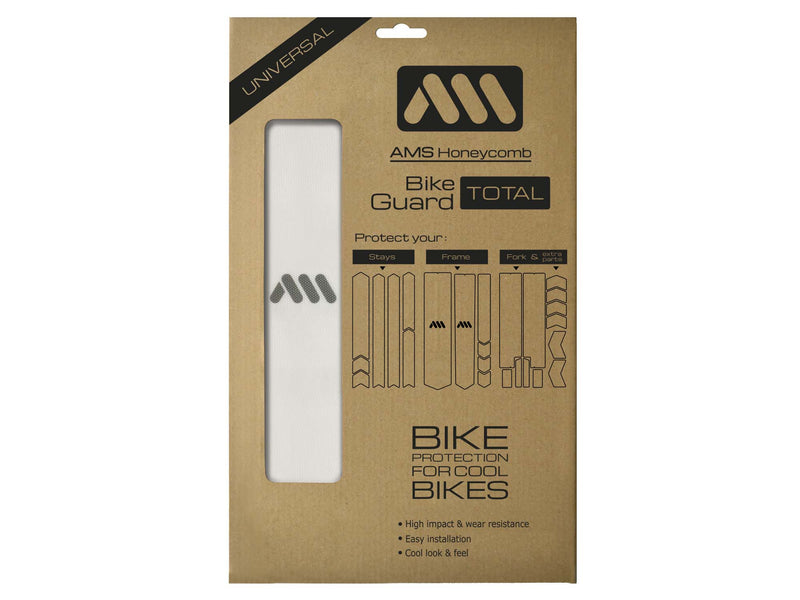 AMS honeycomb Frame Guard in Total size clear color packaging