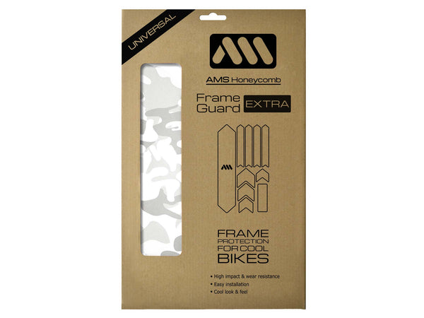 AMS All Mountain Style Frame Guard White Camo package Extra size