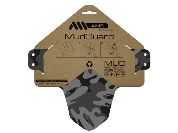 AMS Mud Guard Camo packaging