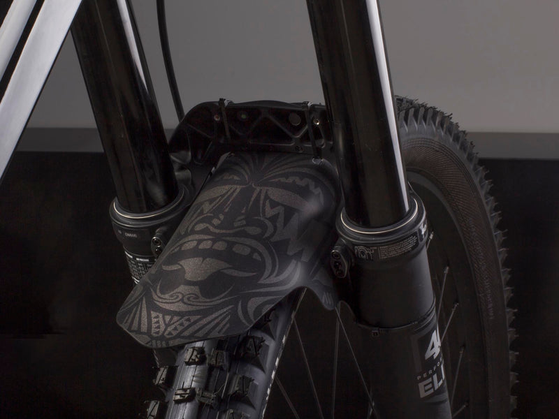 AMS Mud Guard Maori on a Intense bike