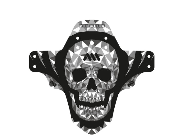 AMS Mud Guard Skull pattern product