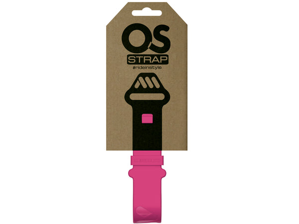 AMS OS Strap in Magenta inside the packaging