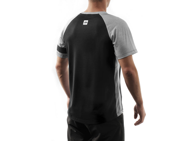 AMS Patrol short sleeve jersey in black back