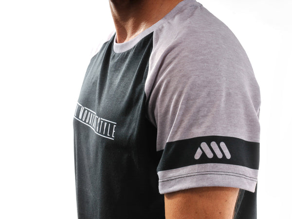 AMS Patrol short sleeve jersey in black detail