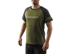 AMS Patrol short sleeve jersery in green front