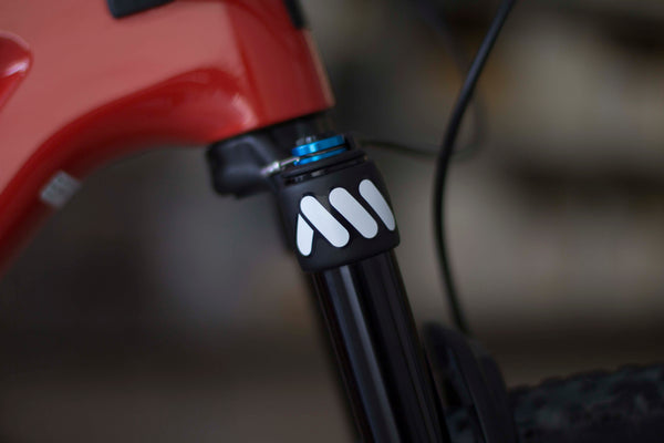 AMS stickers on fork