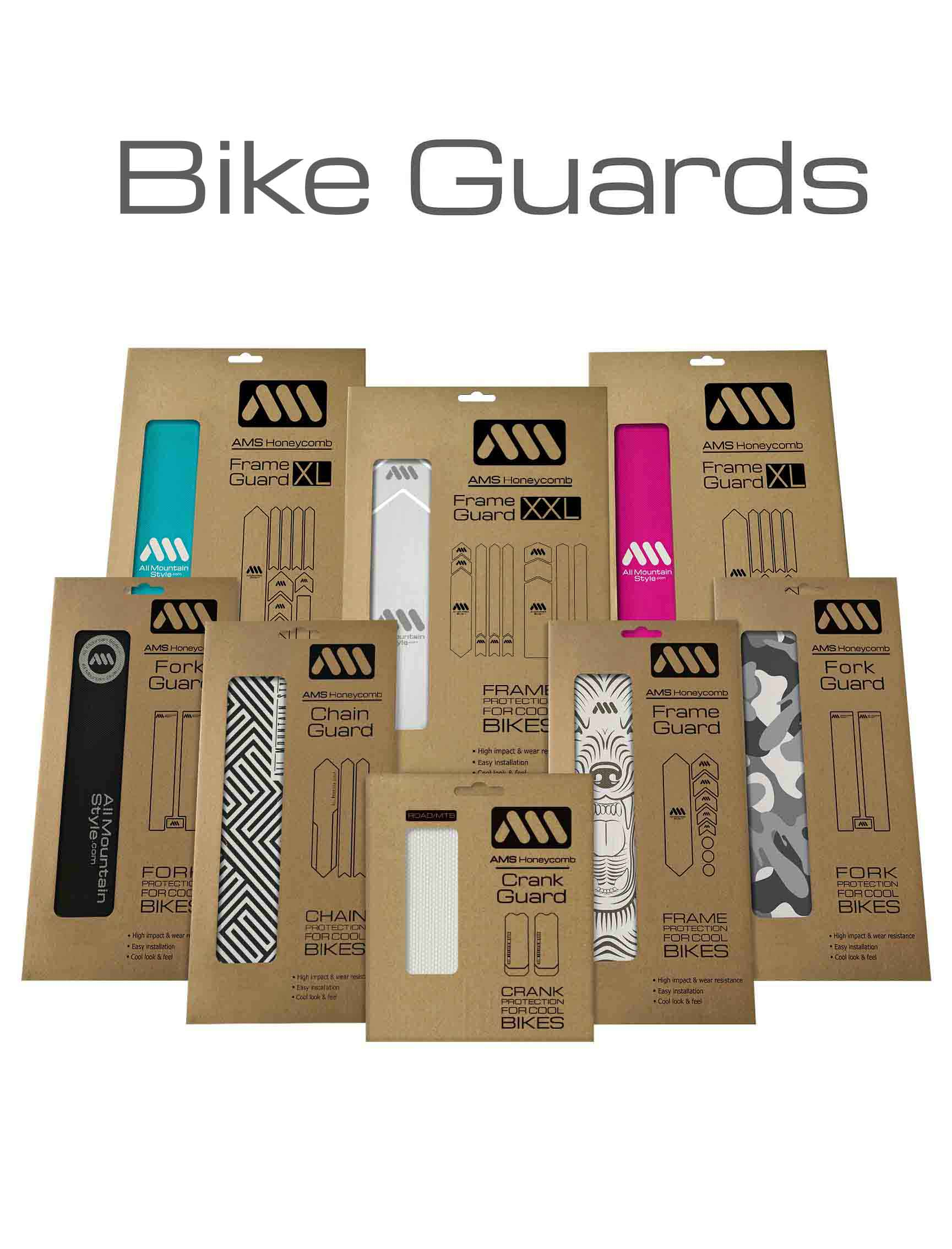 AMS Frame and Fork Guard Collection