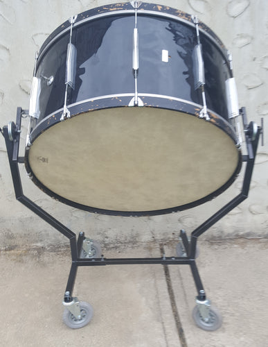 GrandStands Concert Bass Drum Stand - No Holes to Drill!