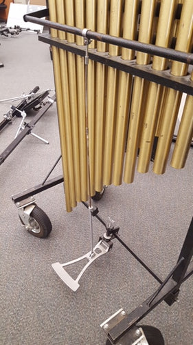 Chime Pedal & Linkage Replacement System for Ludwig Musser Portable Chime Rack