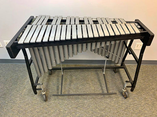 Vintage 3 Octave Jenco Vibraphone On A Marching Field Cart
