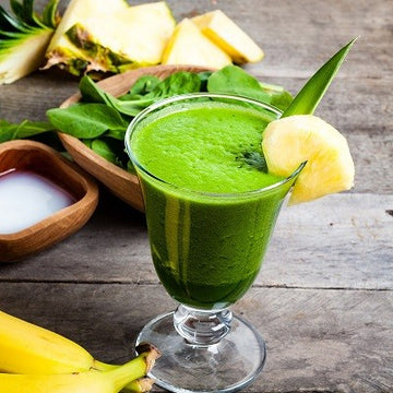 Green smoothie moringa - épinards