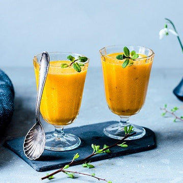 Smoothie curcuma-orange