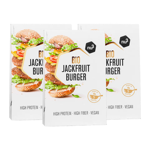 nu3 Jackfruit Burger bio, steak végétarien