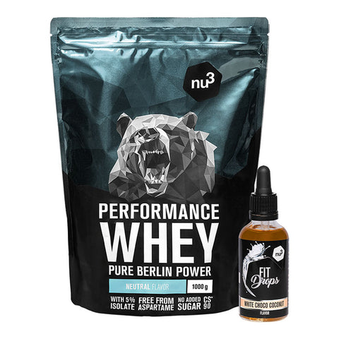 nu3 Whey Performance  + Fit Drops
