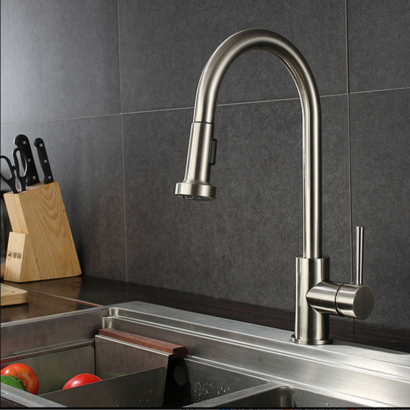 Stainless Steel 'Easy' Keukenkraan