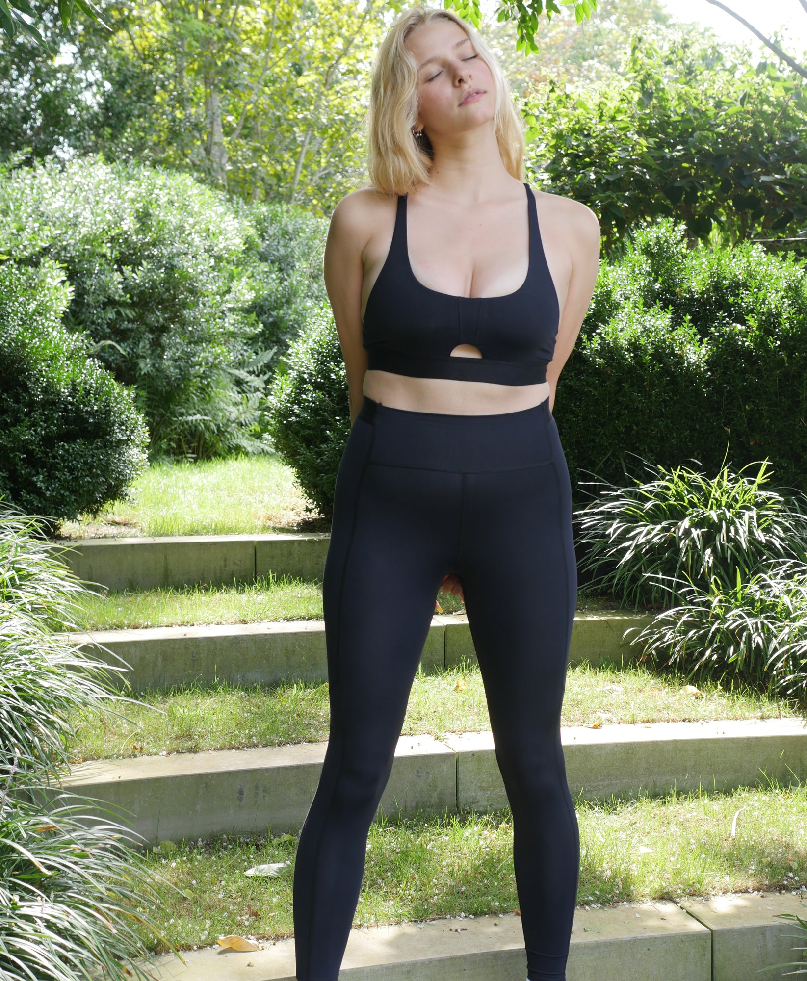 Free Throw Full Length Legging - Caviar