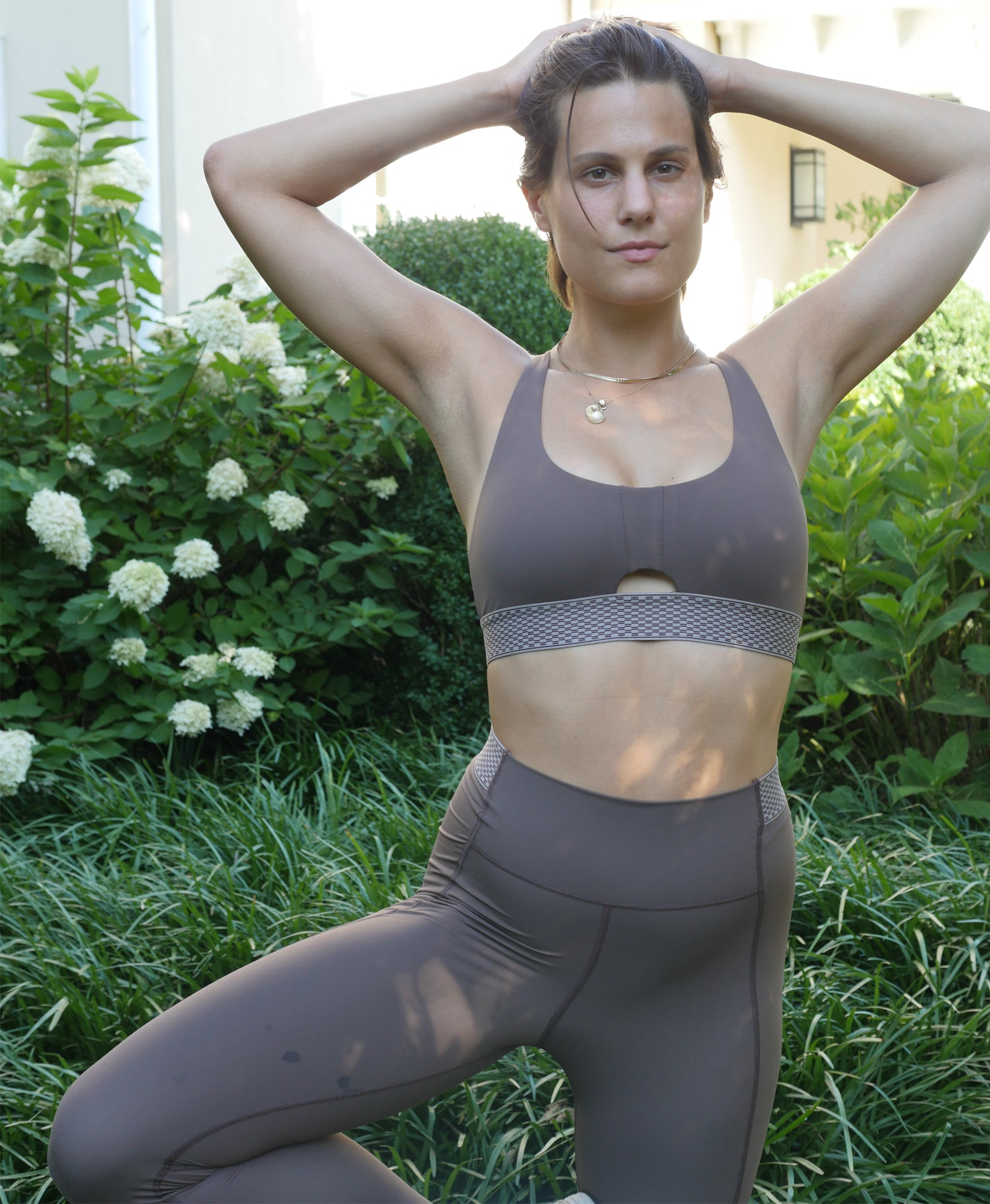 Free Throw Full Length Legging - Flax