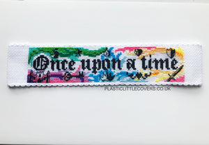 Once Upon a Time - Bookmark Cross Stitch Pattern PDF.