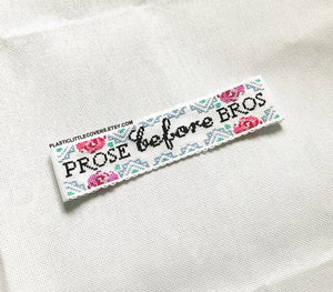 Cross Stitch Bookmark Kit - Prose Before Bros