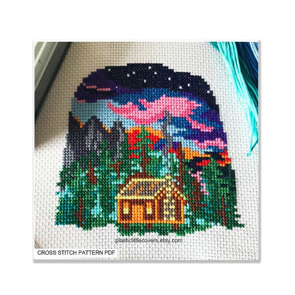 Home - Cross Stitch Pattern PDF.