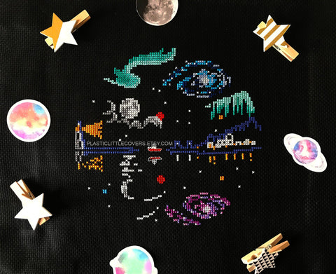 Night Sky - Cross Stitch Pattern PDF.