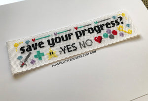 Cross Stitch Bookmark Kit - Save Your Progress?