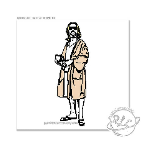 The Dude - Cross Stitch Pattern PDF.