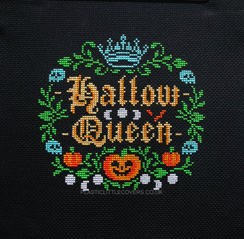 Hallow Queen - Cross Stitch Pattern PDF.