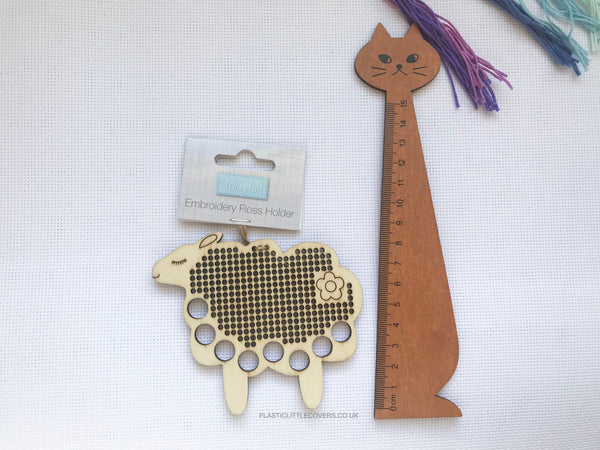 Sheep Embroidery and Cross Stitch Thread Organiser.