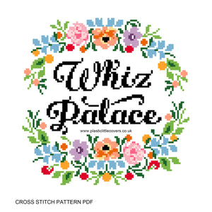 Whiz Palace - Cross Stitch Pattern PDF.