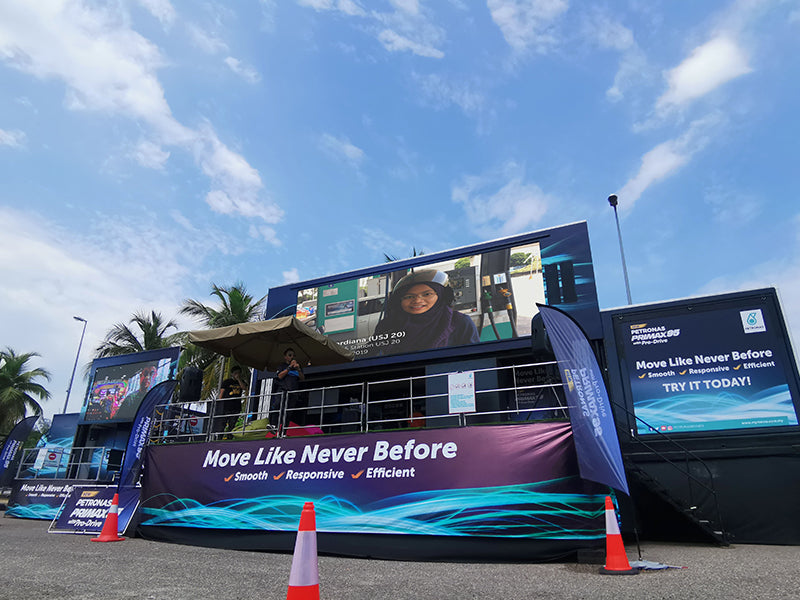 LED Event Truck Advertising