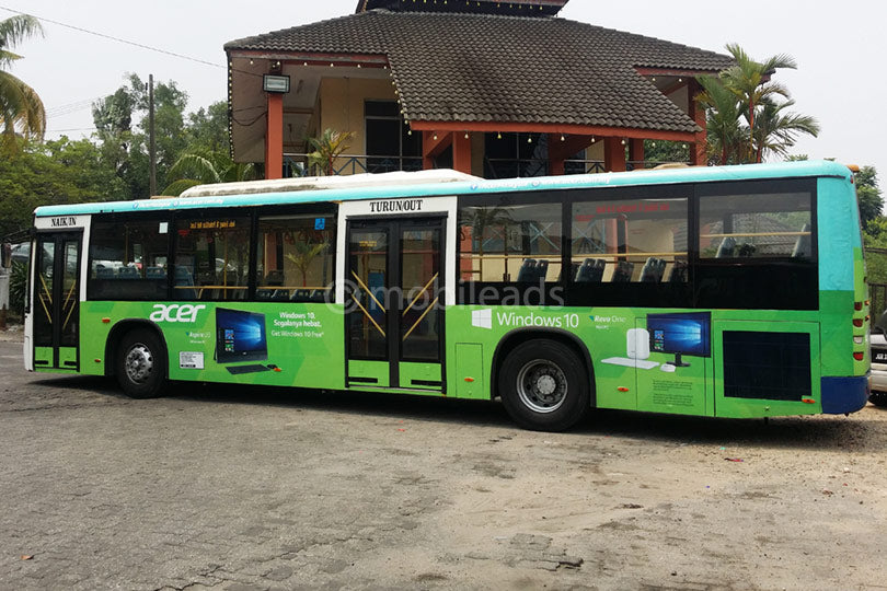 Johor State Bus Advertising