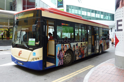 rapid penang, bus advertising, transit advertising, outdoor advertising, mobile ads marketing, penang bus advertising,  advertising agency