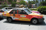 Malaysia Taxi advertising, Taxi advertising , Taxi top, Taxi Wrap, Transit advertising , outdoor advertising , gradads, KL taxi , KL taxi ads , advertising agency