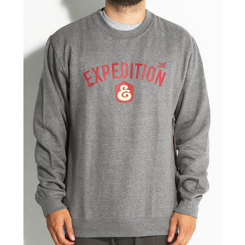 CREW NECK EXP ONE PORT GREY