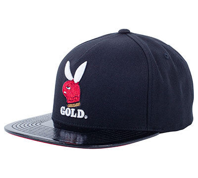 CAP GOLD GOON CLUB SNAPBACK BLACK