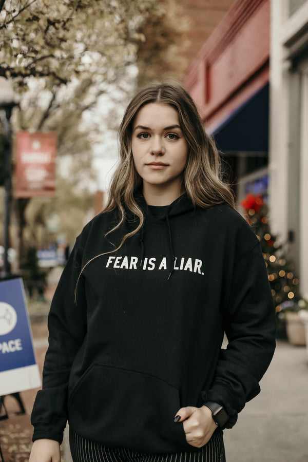 Fear Is A Liar Logo Hoodie