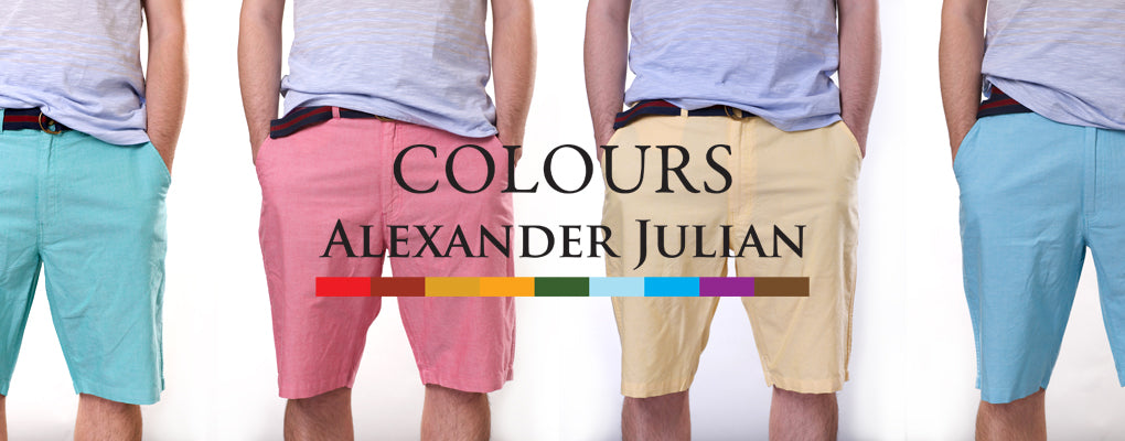 Colours by Alexander Julian Shorts