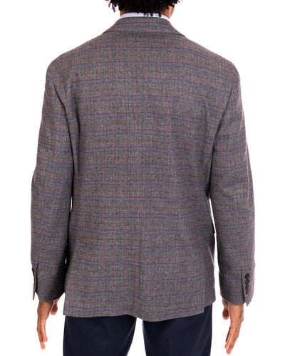 Jewel Tone Twist Ash Sport Coat Back