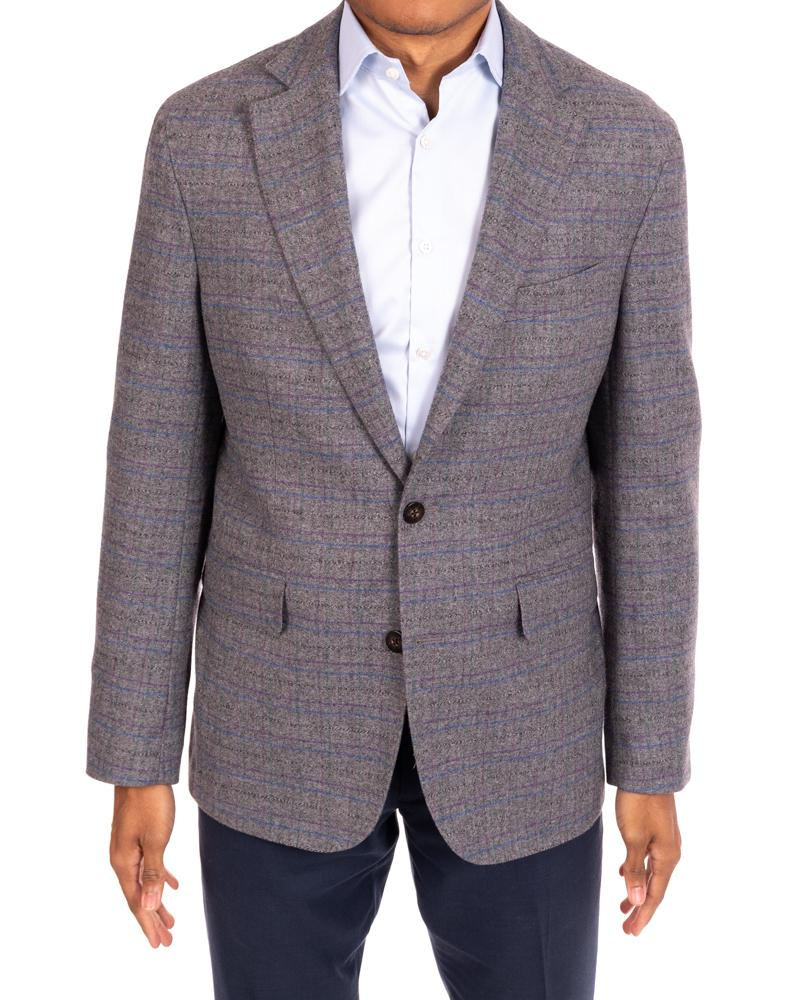 Jewel Tone Twist Ash Sportcoat by Alexander Julian
