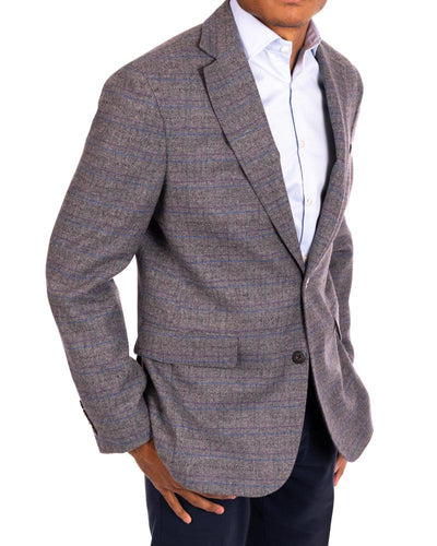 Jewel Tone Twist Ash Sport Coat Side