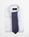 Purple Heather Herringbone Tie