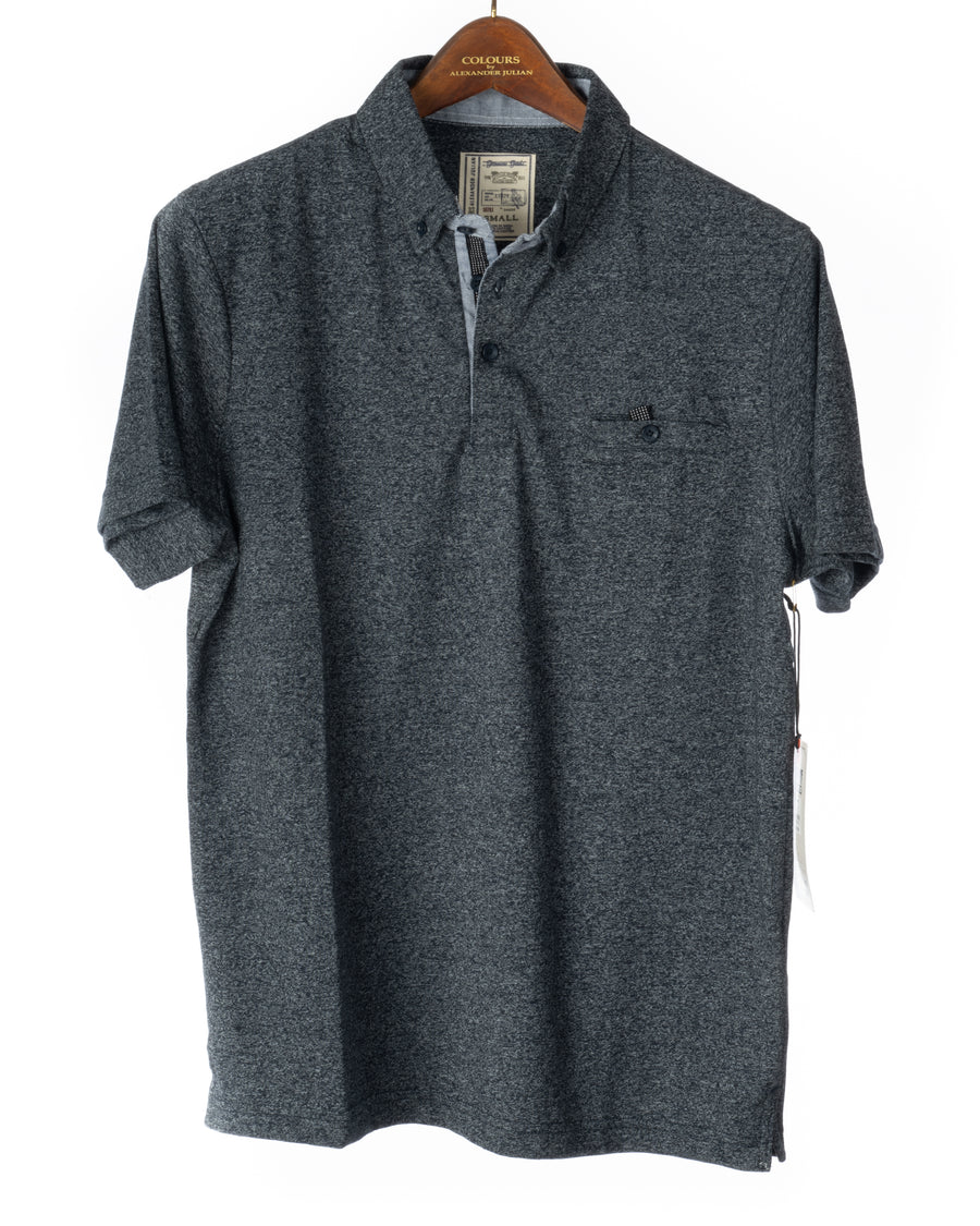 Short Sleeve Grindle Jersey Polo Navy