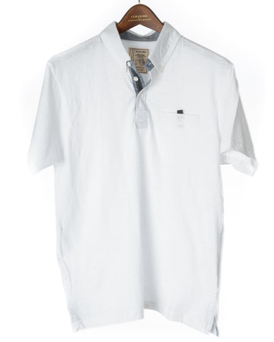 Alexander Julian Grindle Jersey White Polo Shirt