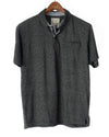 Alexander Julian Short Sleeve Grindle Jersey Polo Black