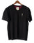 Black Short Sleeve Organic Cotton T-Shirt by Alexander Julian