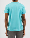 Breezy Blue Organic Cotton Tee