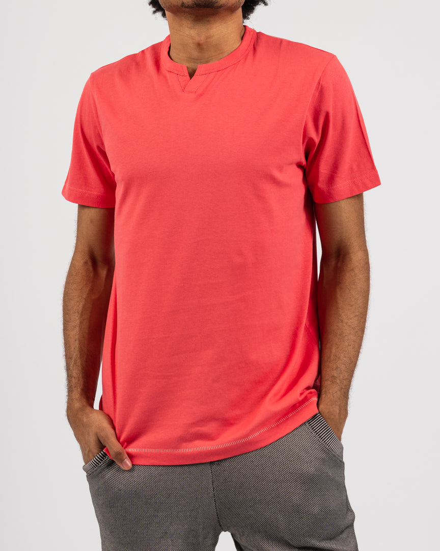 Grenadine Short Sleeve Notch Next Tee
